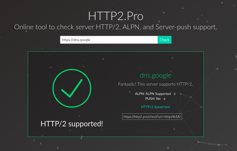 HTTP/2 Support